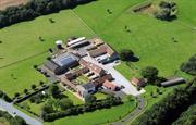 Broadgate Farm birdseye view