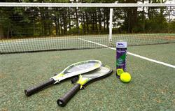 Tennis Court at Broomhill Manor