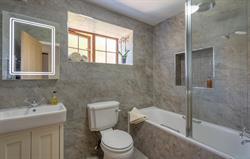 The Cartwheel bathroom