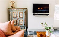 Second lounge with Netflix
