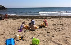 Safe sandy beaches - the stuff of c