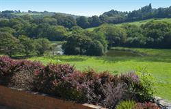 Enjoy superb views of countryside