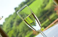 Relax with a tipple on the terrace