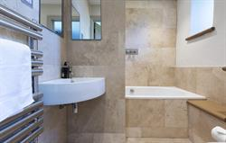 Natural Stone Bathroom with Shower