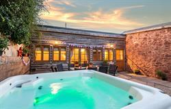 Lavender Barn Hot Tub