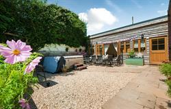 Lavender Barn courtyard