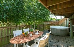 Outdoor relaxing areas
