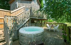The Treehouse Hot Tub