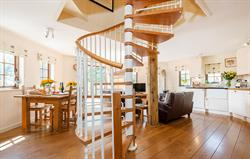 Spiral Staircase at The Treehouse