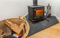 Log burner, free logs