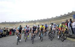 Bath is a very popular cycling venu