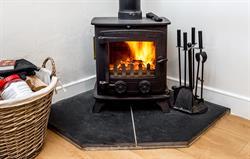 Log stove and free logs