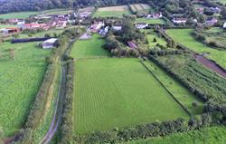2 acres of well mown fields