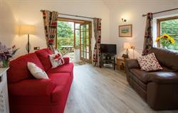 The Granary cottage living room