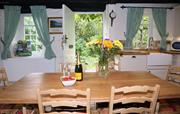 Country kitchen at Tyn y Coed