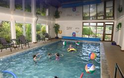 Tregongeeves indoor pool