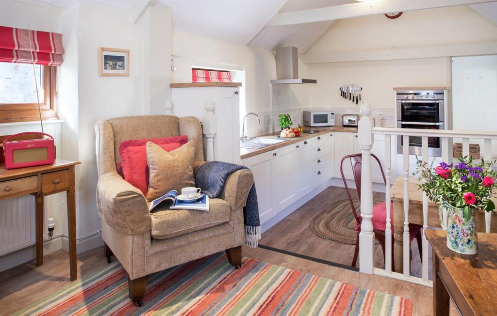 Corner Cottage lounge area