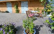 The Cottage - external seating area