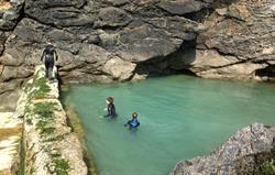 Mermaid Pool at low tide