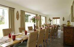 Dining area for 20