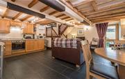 Relax in Elliott Cottage's living room