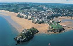 South beach at Tenby