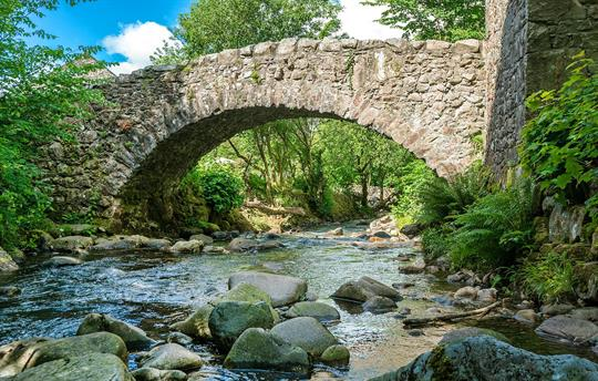 Bridge over the Whillan Beck