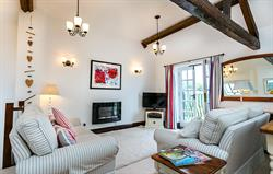 Oak Cottage Living Area