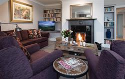Comfort and log fire at Beacon Hill