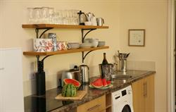 Great Western Lodge: Kitchen Area
