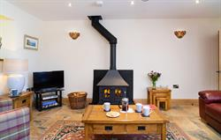 Teifi cottage lounge