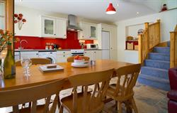 Teifi cottage dining