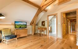 Master bedroom with freesat TV