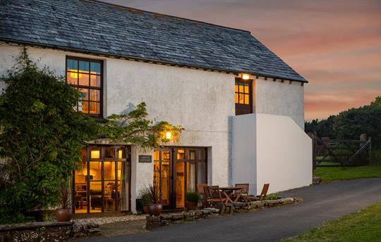 Sunset at Anna's Cottage