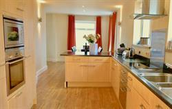 Bright, open plan kitchen