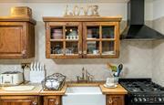 Beautiful kitchen at Higher Scholes