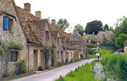 Explore the beautiful town of Bibury