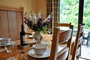 Summer dining at Hafod