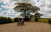 Cycle store, High Barn, Heritage Escapes