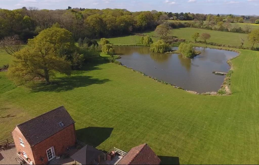 Aerial View of Havenlea Cottage