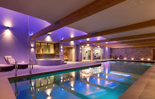 Mirefoot Spa poolside