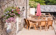 Al Fresco dining at The Rookery on private patio