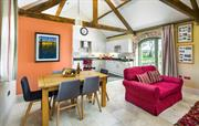 The Spinney  open -plan living area