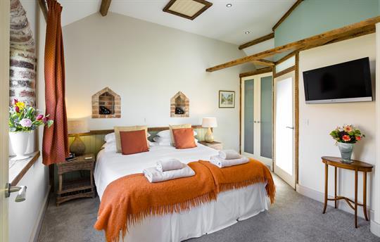 The Spinney en-suite ground floor bedroom