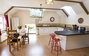 Pheasant Barn open plan kitchen and dining area