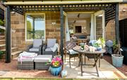 Cowslip Retreat with it's private patio area