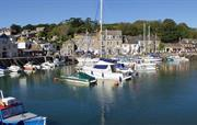 Padstow's pretty harbour