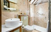 Ensuite Hayloft with walk in shower