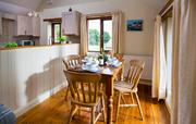 Haydon dining table with views over countryside