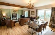 Barn cottage Open plan Sitting and dining room
